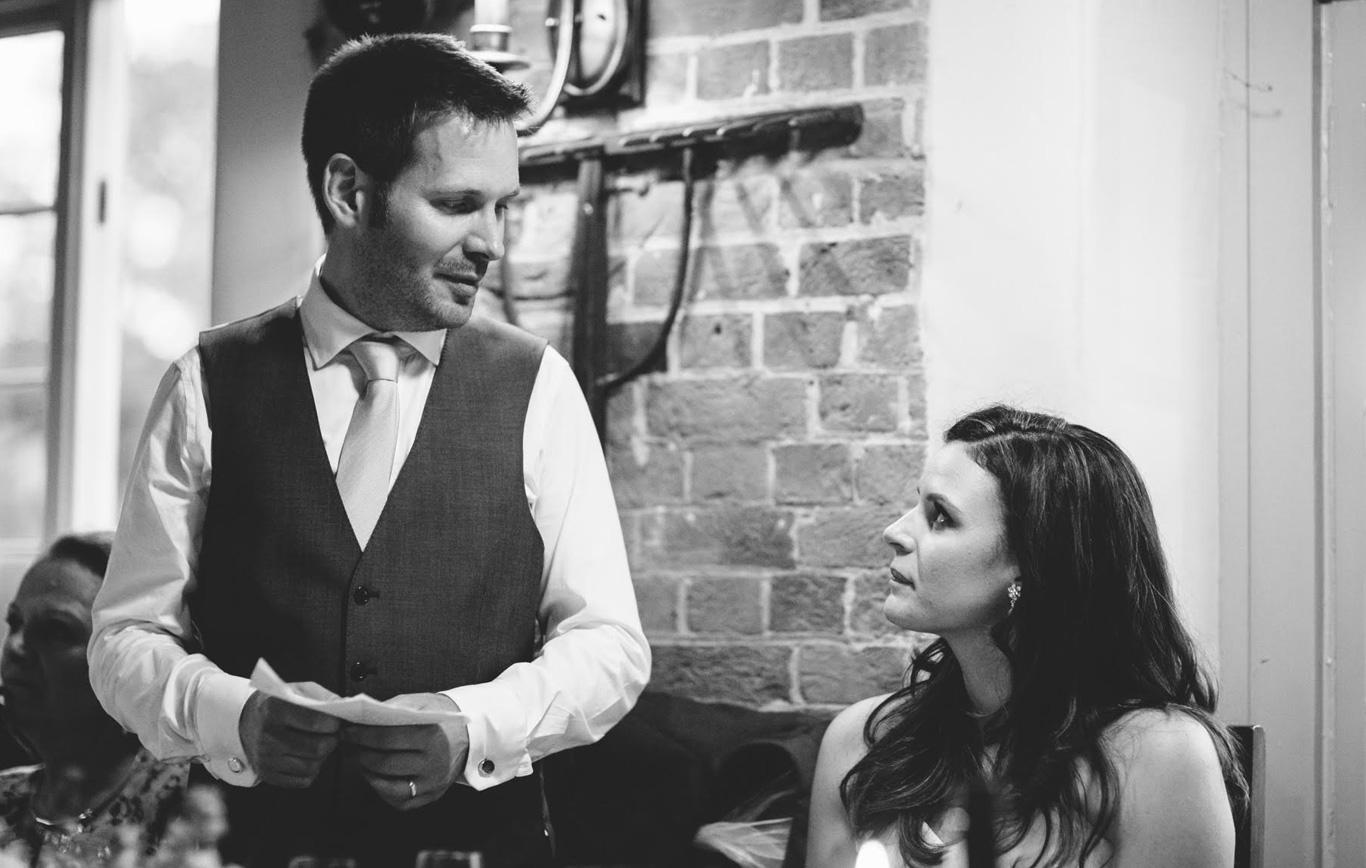 Hochzeitsrede als Bräutigam